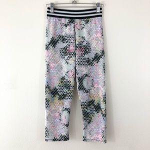 Onzie S/M Multi-Color Prism Capri Pants